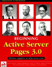 Beginning Active Server Pages 3.0 7602499