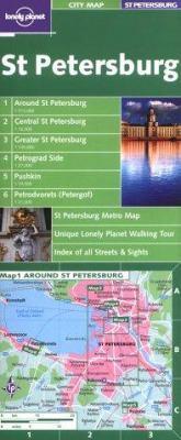 City Map St Petersburg 1/E 9781864501797