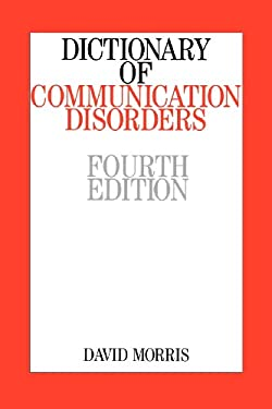 Dictionary of Communication Disorders 9781861562852