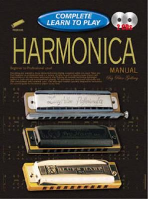 Harmonica Manual: Complete Learn to Play Instructions with 2 CDs 9781864692389