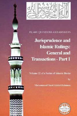 Islam: Questions and Answers - Jurisprudence and Islamic Rulings (Part 1) 9781861794093
