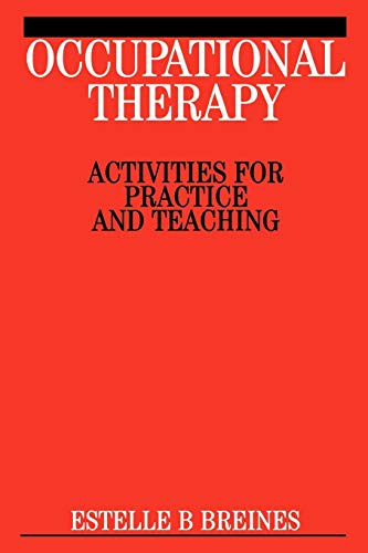 Occupational Therapy Activities 9781861563934