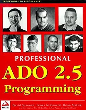 Professional ADO 2.5 Programm Ing 9781861002754