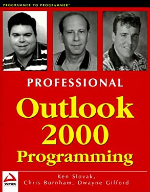 Professional Outlook 2000 Pro Gramming 9781861003317
