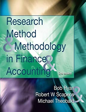 Research Methods and Methodology in Finance and Accounting 9781861528810