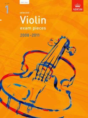 Selected Violin Exam Pieces 2008-2011, Grade 1 Part 9781860967641