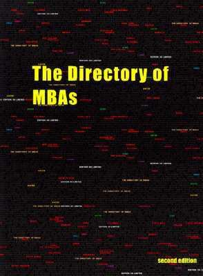 The Directory of MBAs 9781861490209
