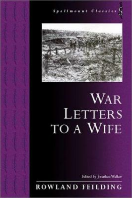 War Letters to a Wife 9781862271197