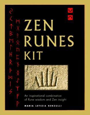 Zen Runes Kit [With 27 Rune Stones W/Gold Engravings in a Velvet Bag] 9781862043169