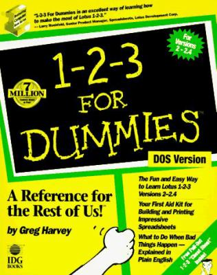 1-2-3 for Dummies 9781878058607
