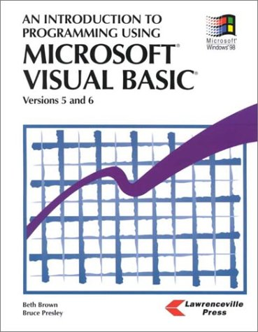 Introduction to Programming Using Visual Basic 2010, 8th Edition