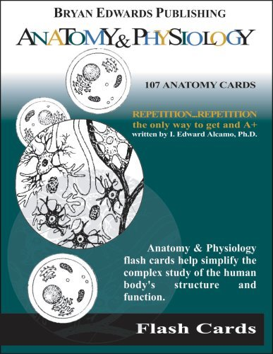 Anatomy & Physiology Flash Cards 9781878576156