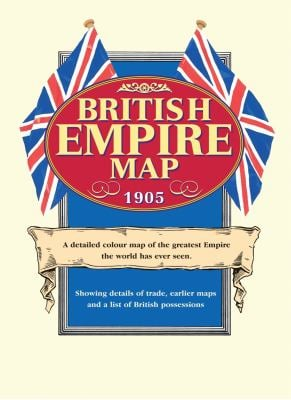 British Empire Map 1905 9781873590034
