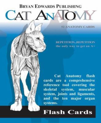 Cat Anatomy Flash Cards 9781878576187
