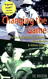 """Written in a lively, readable style, this book profiles two women who broke new ground in tennis. Alice Marble (1913-1990) became the first woman to play """"power tennis"""", and by 1939 had won several Wimbledon titles. Althea Gibson (1927- ) broke the racial """"color line"""" in tennis by entering many previously white-only tournaments, and became the first black person to win both the U.S. Open and Wimbledon competitions."""