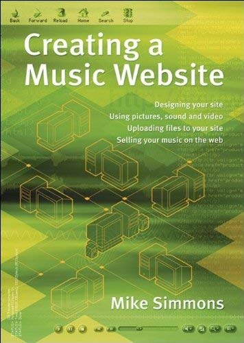 Creating a Music Website 9781870775724