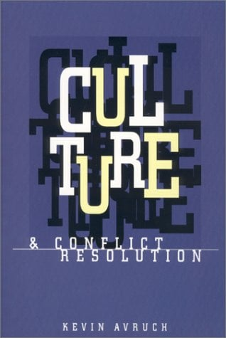 Culture and Conflict Resolution 9781878379825