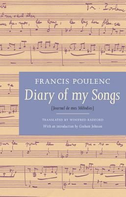 Diary of My Songs/Journal de Mes Melodies 9781871082869