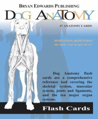 Dog Anatomy Flash Cards 9781878576170