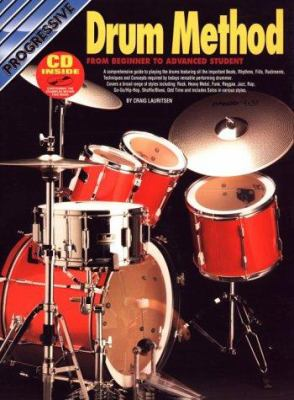 Drum Method Bk/CD: From Beginner to Advanced Student 9781875726189