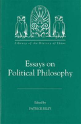 Essays on Political Philosophy 9781878822086