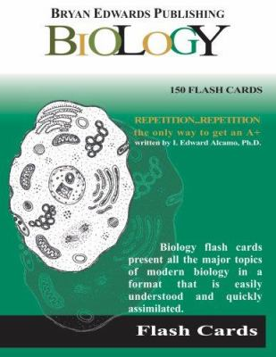 Flash Cards for Biology 9781878576149