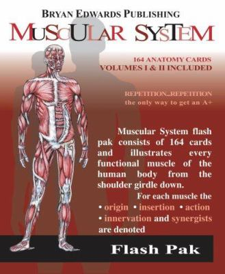 Flash Pak Muscular System Volumes 1 & 2 9781878576057