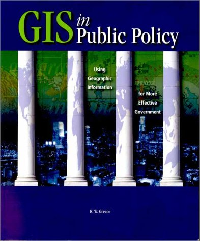 GIS in Public Policy 9781879102668
