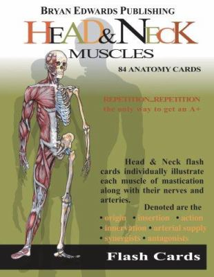 Head & Neck Muscles Flash Cards 9781878576118