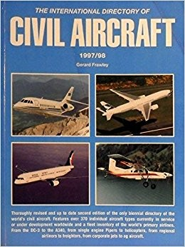International Directory of Civil Aircraft, 1997-98