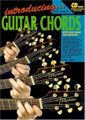 Introducing Guitar Chords Bk/CD: With 'Easy Read' Tab Notation 9781875726905
