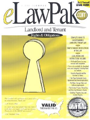 Landlord and Tenant: Rights & Obligations: A Step-By-Step Guide to Understanding and Creating a Residential Rental Agreement 9781879421097