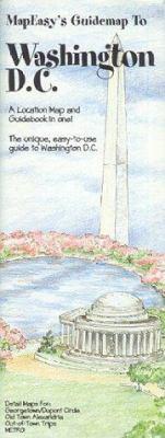 MapEasy's Guidemap to Washington D.C. 9781878979032