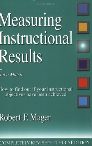Measuring Instructional Results, Or, Got a Match?: How to Find Out If Your Instructional Objectives Have Been Achieved