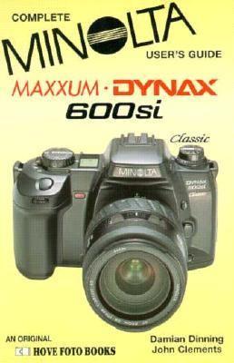 Minolta Dynax/Maxxum 600si 9781874031604