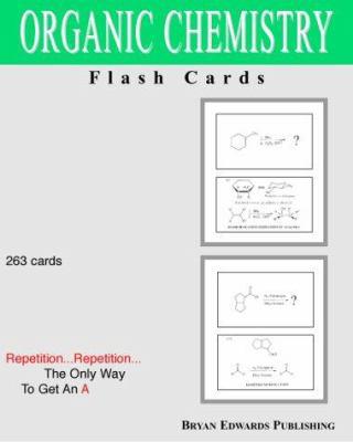 Organic Chemistry Flash Cards 9781878576163