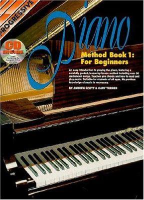 Piano Method Bk 1 Book/CD: For Beginners 9781875726264