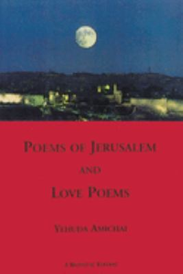 Poems of Jerusalem and Love Poems 9781878818195
