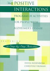 Positive Interactions Program of Activities for Persons with