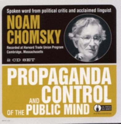 Propaganda and Control of the Public Mind 9781873176689