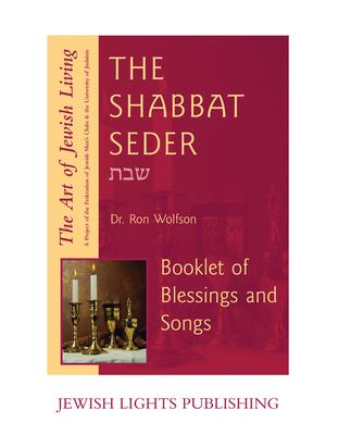 Shabbat Seder Booklet of Blessings and Songs 9781879045910