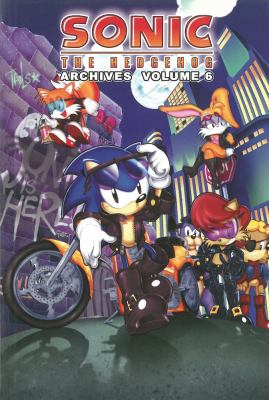 Sonic the Hedgehog Archives, Volume 6 9781879794276