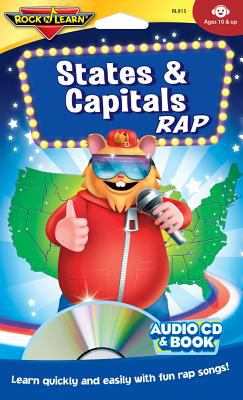 States & Capitals Rap [With Book(s)] 9781878489159