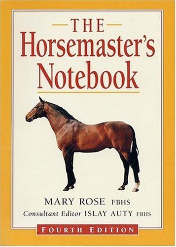 The Horsemaster's Notebook 9781872082929