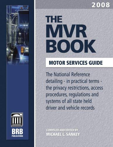 The MVR Book: Motor Services Guide 9781879792906