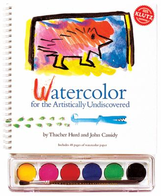Watercolor: For the Artistically Undiscovered [With Paint Brush and Watercolors] 9781878257444