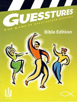Guesstures Board Game: The Game of Split Second Charades 9781889055411