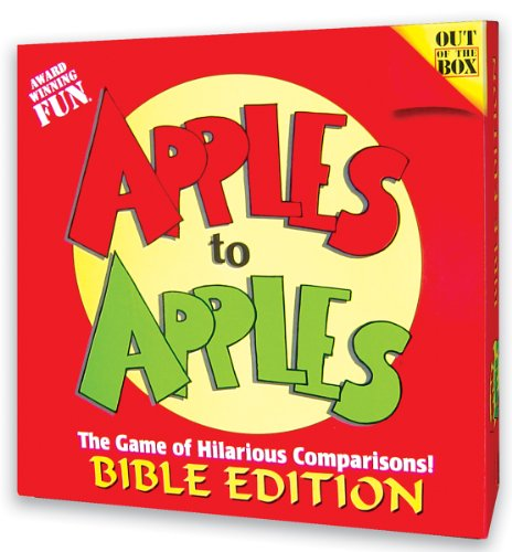 Apples to Apples Card Game 9781889055473