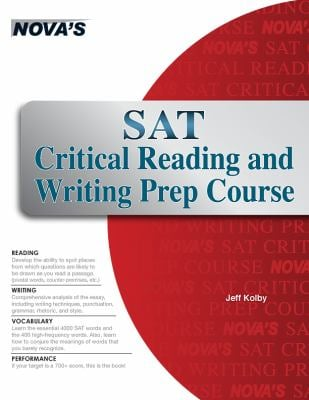 SAT Critical Reading and Writing Prep Course 9781889057859