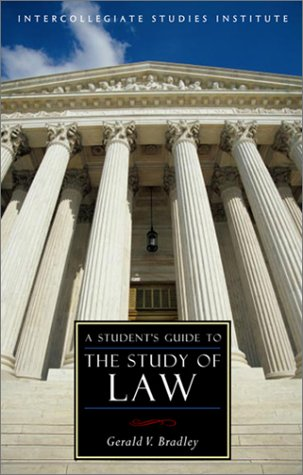 A Student's Guide to the Study of Law 9781882926978